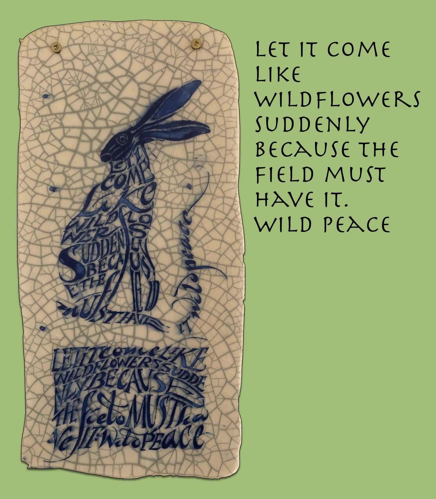 Easter Hare – Wild Peace